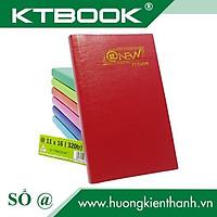 Gói 2 cuốn Sổ tay ghi chép Bìa Da Mềm Cao Cấp nhiều Màu kích thước 13 x 20 cm mã 320 giấy ruột caro - 250 tr