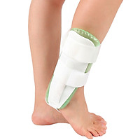 Air Gel Ankle Stirrup Brace Adjustable Ankle Splint Stabilizer Support for Sprains and Arthritis Pain Relief