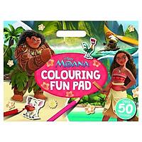 Disney - Moana: Colouring Fun Pad (Giant Colour Me Pad Disney)