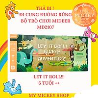 Mideer Let it roll - Trò chơi Thả bi - Đua cung đường rừng dành cho bé từ 6 tuổi - MD2107