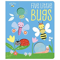 Busy Bees: Five Little Bugs