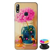 Ốp lưng điện thoại Asus Zenfone Max Pro M2 hình Tình Yêu Kỳ Diệu tặng kèm giá đỡ điện thoại iCase xinh xắn - Hàng chính hãng