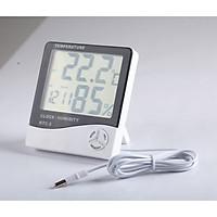 Đồng hồ đa năng đo độ ẩm, 2 cảm biến nhiệt độ HTC2
