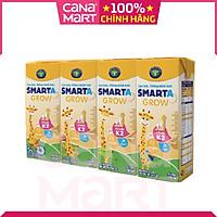 Thùng (180mlx48 hộp) sữa công thức pha sẵn Nutricare Smarta Grow giúp trẻ tăng trưởng chiều cao, phát triển não bộ, dinh dưỡng cho trẻ thấp còi