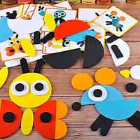 Ghép hình tư duy theo thẻ Montessori