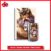 DECAL TRANG TRÍ MÁY TÍNH CASIO / VINACAL GAME LIÊN QUÂN 009