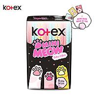 Băng Vệ Sinh Kotex Mini Meow Siêu Mềm SMC 8 miếng
