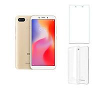 Xiaomi Redmi 6 32GB ram 3GB + Cường lực + Ốp lưng - Hàng nhập khẩu