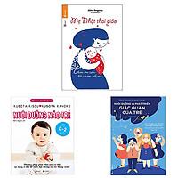 Combo 3 cuốn: Nuôi Dưỡng Não Trẻ + Mẹ Nhật Thai Giáo + Nuôi Dưỡng Và Phát Triển Giác Quan Của Trẻ