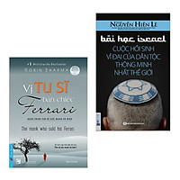 Combo Sách Kỹ Năng Hay: Vị Tu Sĩ Bán Chiếc Ferrari + Bài Học Israel - Cuộc Hồi Sinh Vĩ Đại Của Dân Tộc Thông Minh Nhất Thế Giới (Bộ 2 Cuốn Sách Giúp Bạn Đọc Chinh Phục Ước Mơ Và Khám Phá Thế Giới Mới)