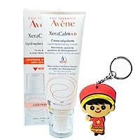 Kem cấp ẩm, giảm ngứa cho da khô, viêm da cơ địa Avene XeraCalm AD Lipid-Replenishing Cream 200ml (Mẫu mới, tặng móc khoá)