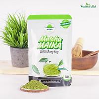 [Organic] Bột Matcha Trà Xanh Nguyên Chất Sấy Lạnh MaikaFood - Dùng Pha Chế, Làm Bánh, Làm Đẹp Túi 100gr
