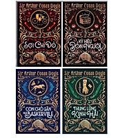 Combo Tác Giả Sir Arthur Conan Doyle (Trọn Bộ 4 Cuốn) : Sợi Chỉ Đỏ + Thung Lũng Kinh Hãi + Ký Hiệu Bốn Người + Con Chó Săn Nhà Baskerville