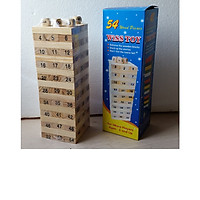 Đồ chơi rút gỗ thông minh cho bé 54 thanh loại to