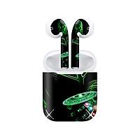 Miếng dán skin chống bẩn cho tai nghe AirPods in hình siêu anh hùng - SAH0059 (bản không dây 1 và 2)