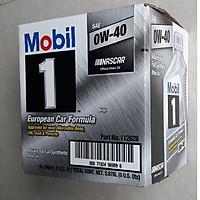 Thùng nhớt động cơ đốt trong MOBIL 0W40 (6 chai x 946 ml) - Dầu nhớt Mobil nhập khẩu từ Mỹ
