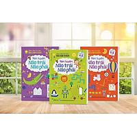 Combo 3 cuốn RÈN LUYỆN NÃO TRÁI, NÃO PHẢI - Sân Chơi Trí Tuệ: Trò Chơi Tư Duy - Dành cho trẻ 3-6 tuổi