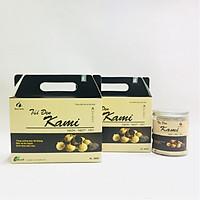 Combo 2 hộp Tỏi đen 500g Kami + Tặng 1 hộp Tỏi đen bóc vỏ Kami 300g