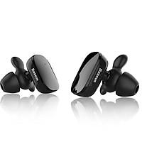 Tai nghe Bluetooth đôi true wireless BASEUS Encok W02 V4.1 âm thanh 4D Stereo - hỗ trợ kết nối riêng lẽ từng tai (đen) Hàng Chính Hãng
