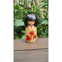 Búp bê Kokeshi, búp bê gỗ, búp bê handmade làm từ gỗ, món quà lưu niệm ý nghĩa của Nhật Bản