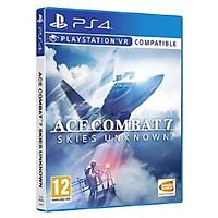 Đĩa Game Ps4: Ace Combat 7 Skies Unknow (Chơi được trên VR)-Hàng nhập khẩu
