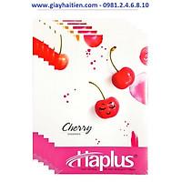 Lốc 5 quyển vở kẻ ngang 120 trang Haplus 5662 Cherry