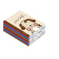 10 cuốn Tập học sinh Little Animal 96 trang ruột 80