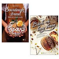Combo Sách Nữ Công Gia Chánh: Sourdough Bread - Bánh Mì Men Tự Nhiên + Bánh Mì Lang Thang