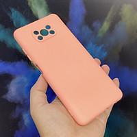 Ốp lưng cho Xiaomi Poco X3 NFC, nhựa TPU dẻo màu lót nhung che camera