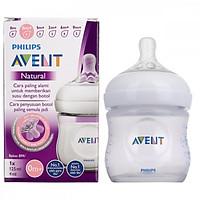 Bình sữa Philips Avent Natural 60ml / 125ml / 260ml / 330ml bằng nhựa PP, không có BPA