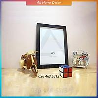 Khung ảnh A4 Alpha, khung tranh treo tường 21x30