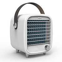 Portable Air Conditioner Small Usb Desktop Computer Built-in Air Cooler Powerful Night Light Cooling Fan
