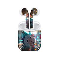 Miếng dán skin chống bẩn cho tai nghe AirPods in hình Heo con dễ thương - HEO2k19 - 162 (bản không dây 1 và 2)