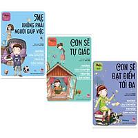 Conbo 3 Cuốn Những Kỹ Năng Truyền Cảm Hứng: Mẹ không Phải Người Giúp Việc + Con Sẽ Tự Giác + Con Sẽ Đạt Điểm Tối Đa ( tặng kèm Postcard GreenLife)