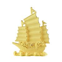 Thuyền Buồm phủ vàng 24K quà tặng mỹ nghệ KBP DOJI DJWRJ021