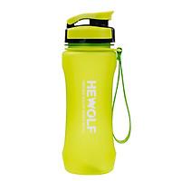 Bình nước Bình nhựa đựng nước thể thao tập gym du lịch phượt Hewolf HW1709 - Hàng chính hãng