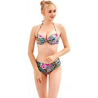 Áo tắm Bikini quần đan dây  - BS093_TU
