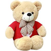 Love still bear plush toy bear Teddy bear hug bear Oversized panda doll cloth doll doll birthday gift female 1m love sweater