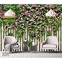 Tranh dán tường hoa giấy ADH190822-28