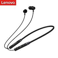 Tai nghe không dây Lenovo QE03 BT5.0 Nút tai đeo cổ từ tính W/MIC/8 giờ thời gian phát/chống thấm nước IPX5/chuyển động âm thanh nổi HiFi