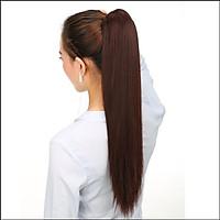 Đuôi tóc giả thẳng đẹp - ngoặm tóc giả thẳng 55cm