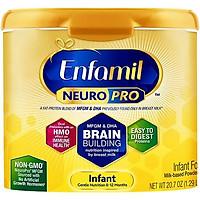 Sữa Bột Enfamil NeuroPro Infant Formula (Dành cho trẻ 0 - 12 tháng tuổi) (587gr)