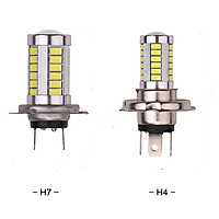 bóng đèn led xe máy H4 H7 siêu sáng