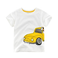 Summer Baby Kid Tees Cartoon Car Baby Boys T Shirt For Summer Infant Kids Boys T-Shirts Clothes Cotton Toddler Tops