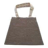 Túi Vải Sọc Ngang Moshi 022 - Màu Nâu