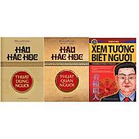 Combo 3 cuốn:  Hậu Hắc Học - Thuật Quản Người + Xem Tướng Biết Người + Hậu Hắc Học - Thuật Dùng Người