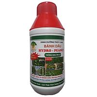 Dinh dưỡng thủy canh bánh dầu HYDRO PEANUT 100% hữu cơ cho rau ăn lá Chai 500ml
