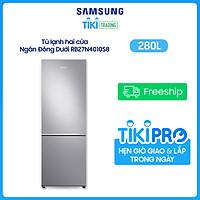 Tủ lạnh Samsung Inverter 280 lít RB27N4010S8/SV