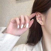 Bộ 3 Bông Tai- Khuyên Tai Nữ Hợp Kim  Cá Tính/B&m Elegant/BTHK3008