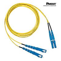 Dây nhảy quang Single mode LC duplex - Chính hãng PANDUIT - Chiều dài tùy chọn - Mã NKFP92ERLLSM0**